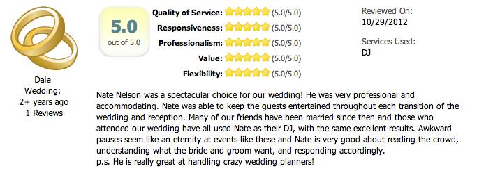 Dallas Wedding DJ LeForce Entertainment Nate Nelson