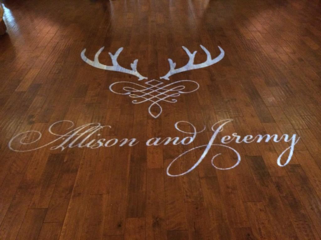 Deer Antler Monogram