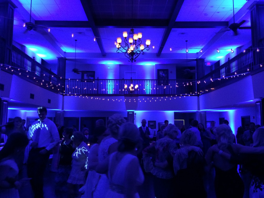 Wildcatter Ranch Blue Lighting
