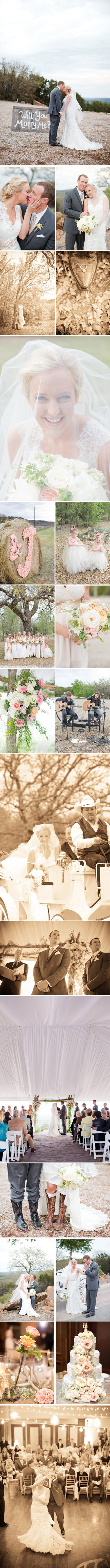 Wildcatter Ranch Wedding Rustic Chic