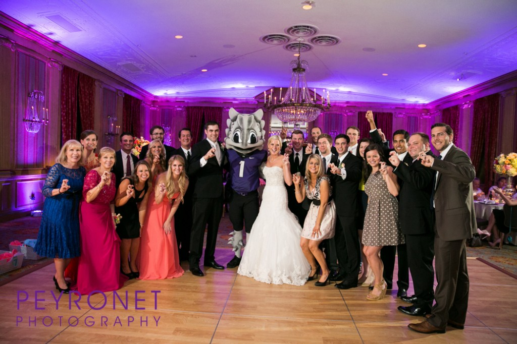 Fort Worth Club TCU Wedding