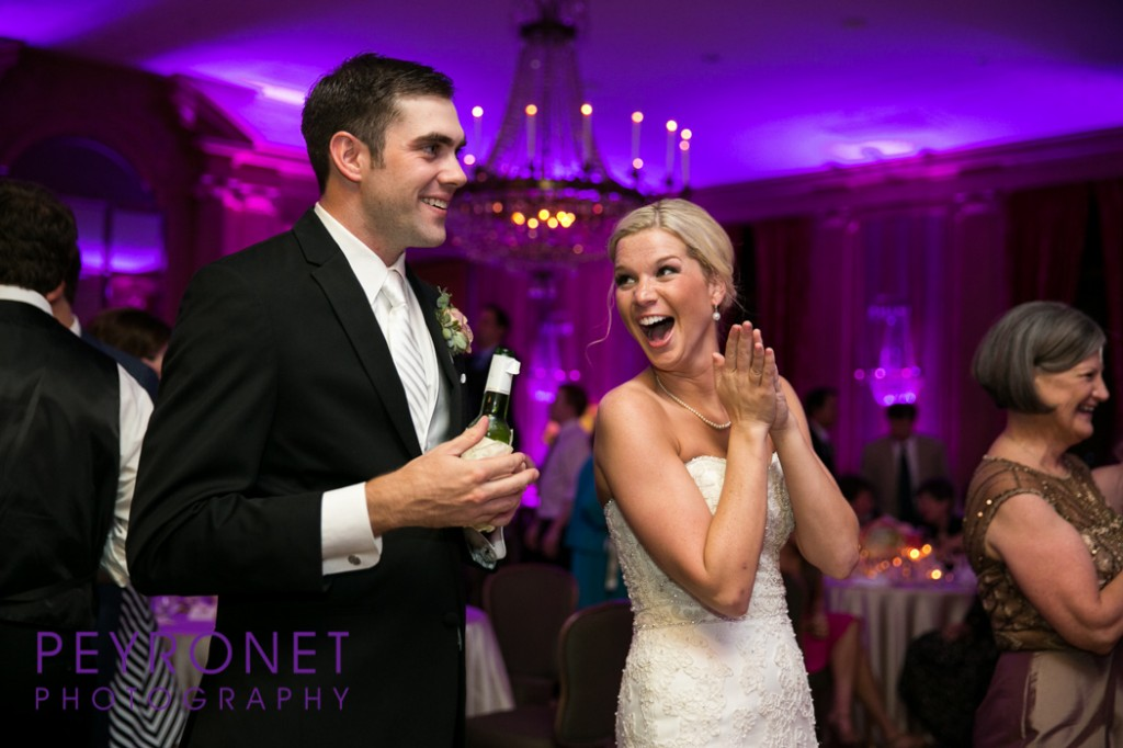 Fort Worth Club Wedding Purple