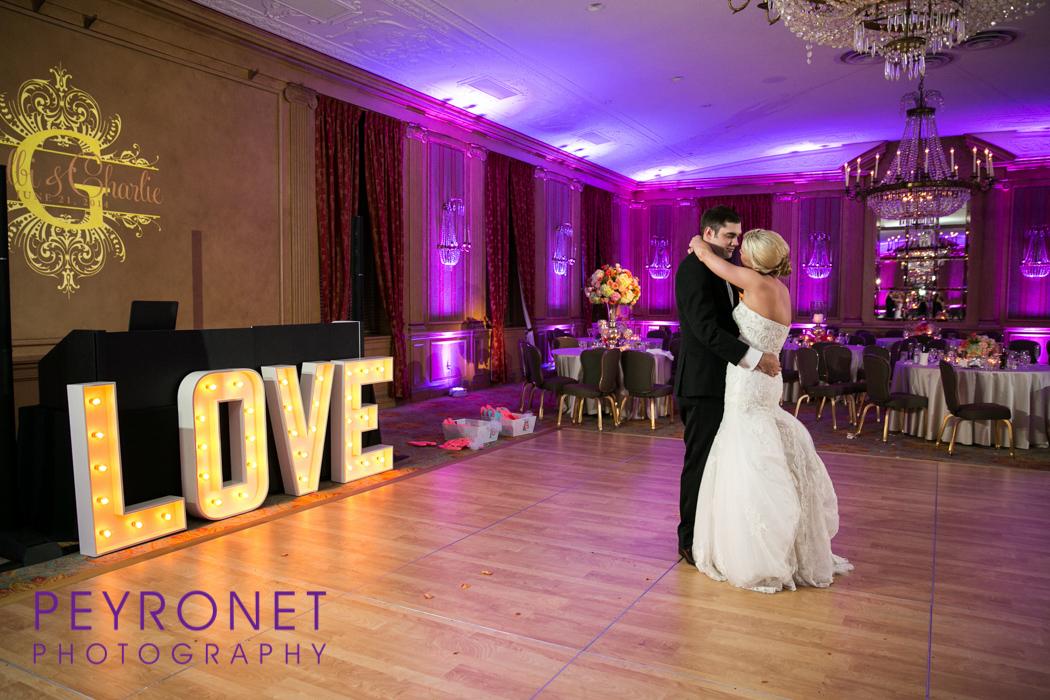 Fort Worth Club Wedding Photos Leforce Entertainment